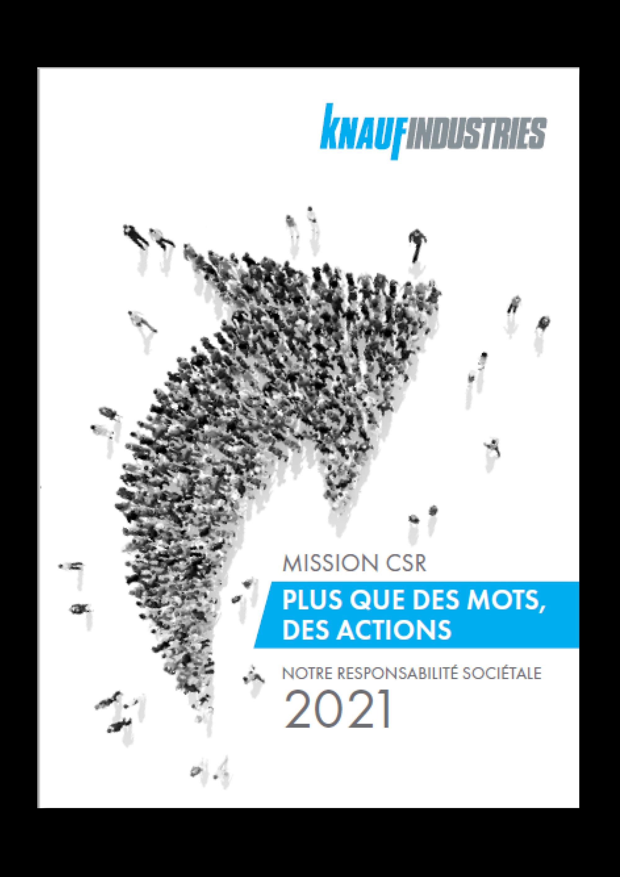 démarche de Responsabilité sociétale Knauf Industries