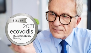 ECOVADIS medaille d'argent Knauf Industries